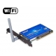 Tarjeta Antena WIFI PCI interna para Placa Base SMA Lan card