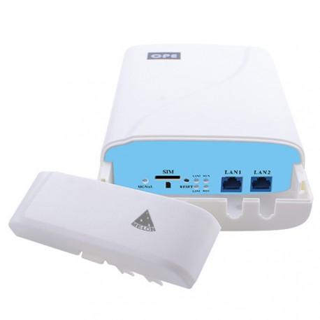 4G LTE CPE com WIFI e slot SIM para repetir internet móvel