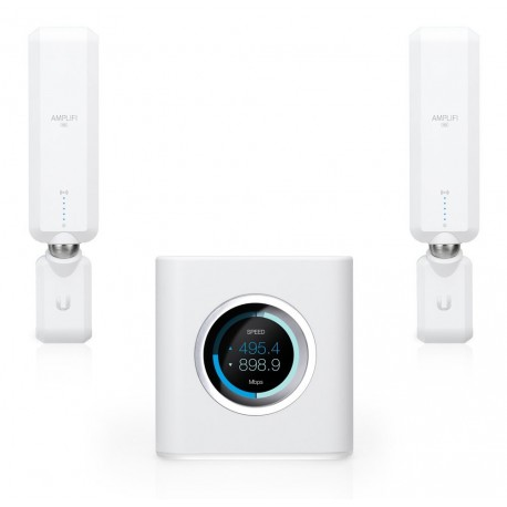 Router Base + 2 Mesh-Points WLAN Ubiquiti AFi-HD-Verstärker
