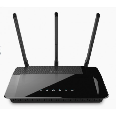 Router Gigabit WiFi-AC1900 Dual-core-Dual-band D-link