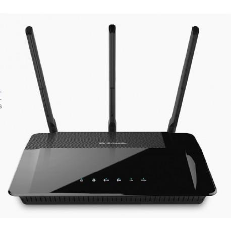 Routeur Gigabit WiFi AC1900 Dual-core Dual-bande D-link