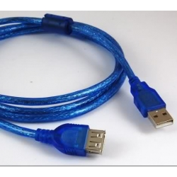 USB 2.0 MALE TO FEMALE EXTENSION CABLE 1,5m Tipe A AM / AF