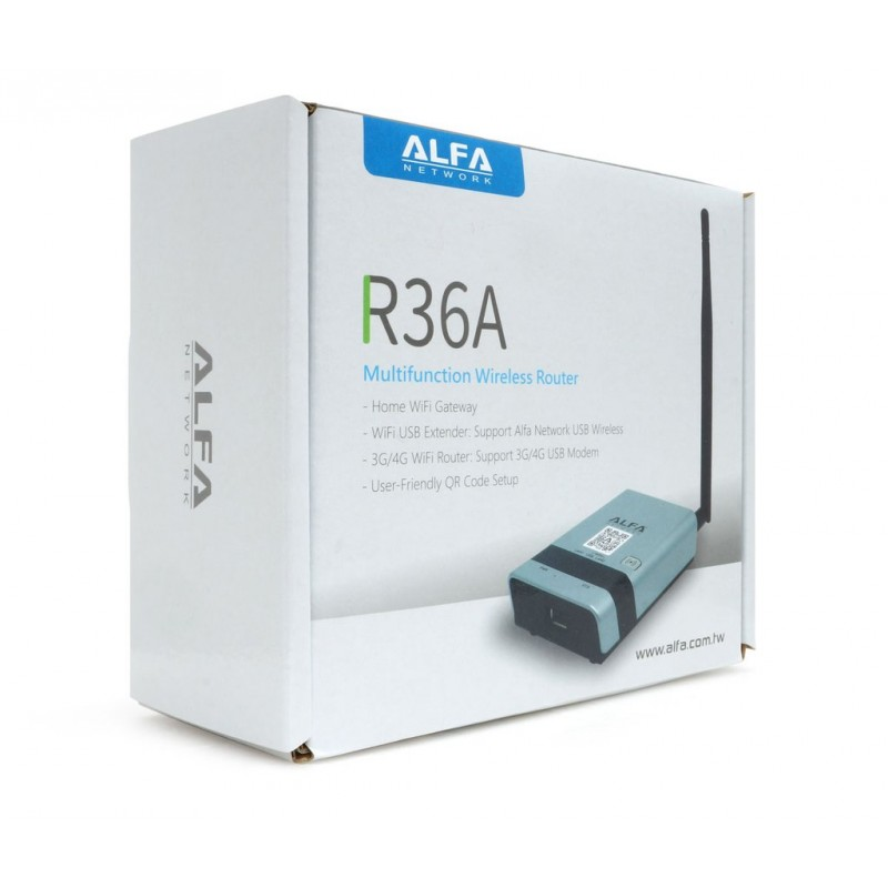 ▷ Router R36A ALFA Network Wifi USB 300Mb