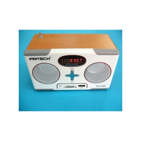 MP3 player digital rádio FM altvoces Estilo retro Vintage