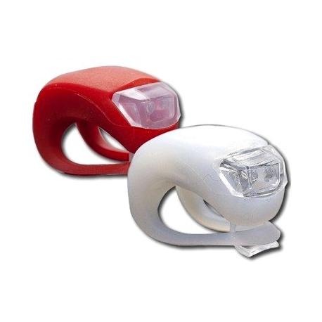 Luci a LED per Bici faro + Lampeggiante anteriore posteriore