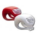 Luci a LED per Bici faro + Lampeggiante anteriore posteriore bicicletta
