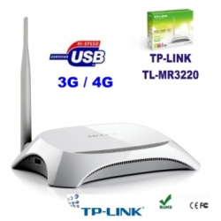 TP-LINK TL-MR3220 3G / 4G Router wireless N WIFI modem USB WDS
