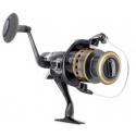 Moulinet de pêche carpfishing pêche 11BB+1 en Aluminium double frein