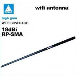 Antena 18dbi WIFI SMA omnidireccional WIFISKY 18db Omni wireless