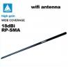 Antena 18dbi WIFI SMA omnidireccional WIFISKY 18db Omni wireless