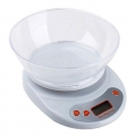 Digital Electronic Kitchen Scale Foodl Weighing Balance bowl 5kg