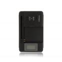 Caricabatterie regolabile, batteria al Litio, fotocamera, telefono cellulare spina EU USB