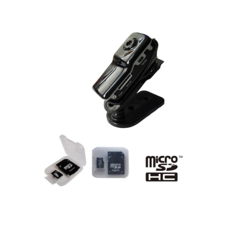 MD80 MD-80 mini camara digital + 8G microSD Video DV espia USB