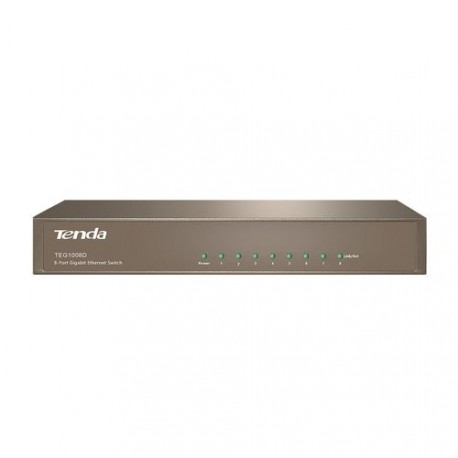 Switch de 8 portas Gigabit TENDA TEG1008D RJ45