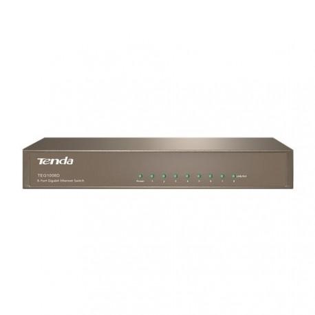 Switch de 8 puertos Gigabit TENDA TEG1008D RJ45