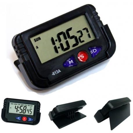 Digital clock for Car motorcycle bike calendar alarm chrono