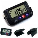 Orologio digitale per Auto moto bici calendar alarm chrono