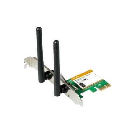 Tarjeta WIFI Tenda W322E WIFI N300 PCI Express Adapter antena