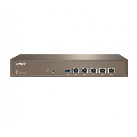 Switche Tenda G3 Router Gigabit Ethernet 5 LAN MULTI-WAN e VPN