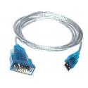 Cavo seriale USB a RS232 UART TTL seriale DB9 9 PIN adattatore GPS FTA