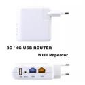 Ripetitore WIFI socket router, modem USB 3G mobile internet