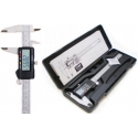 Calibre Digital paquímetro de aço 150mm vernier caliper gauge