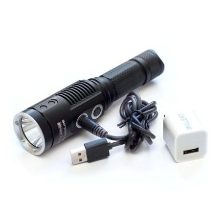 Linterna LED recargable pantalla tactil IMALENT DD2R CREE XM-L2