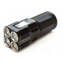 Torcia elettrica ricaricabile potente 3800 lm XM-L2 LED CREE IMALENT DD4R