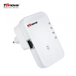 7inova 7W211 300Mbps Wireless-N Repeater WEP, WPA, WPA2 WIFI