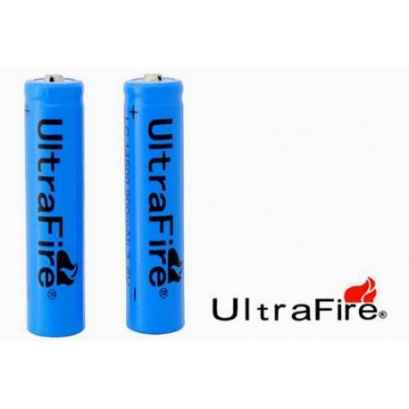 UltraFire agli ioni di litio batteria AA 14500 3.7 V 900mAh ricaricabile
