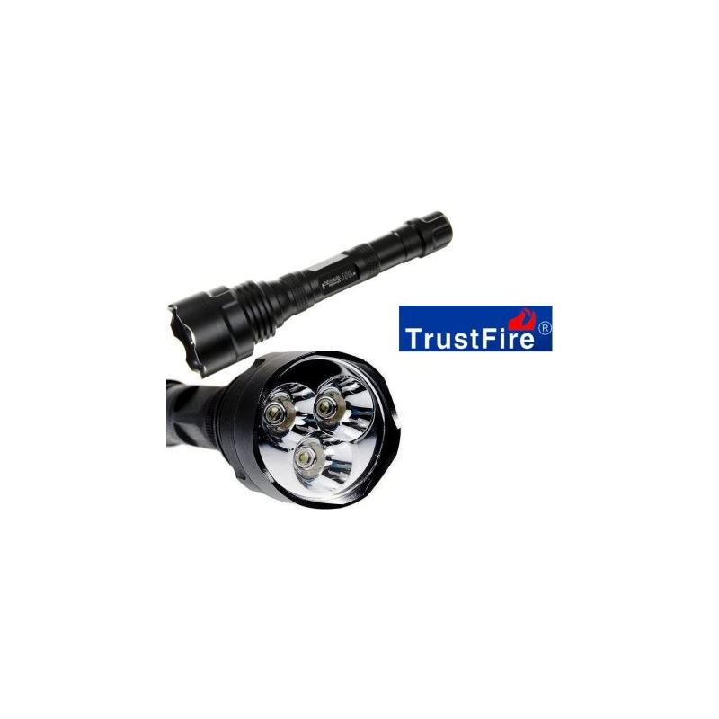 500lm Led 500 Rechargeable 3 Cree Torche À Q5 Lampe Trustfire Tr WEIYeH9D2b
