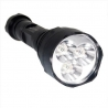 TrustFire TR-500 3 LED CREE Q5 500LM TOCHA recarregável do flash