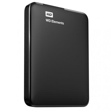Die tragbare festplatte WD Elements 750 GB-USB 3.0