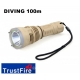 Linterna Buceo sumergible 100m TrustFire DF-001 LED CREE 650lm