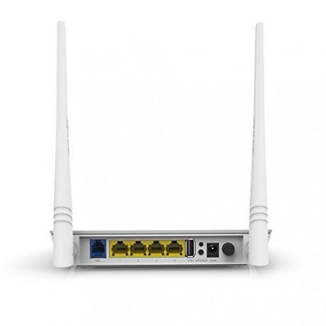 ADSL2 Router Modem CPE WiFi N300 con puerto USB para 3G