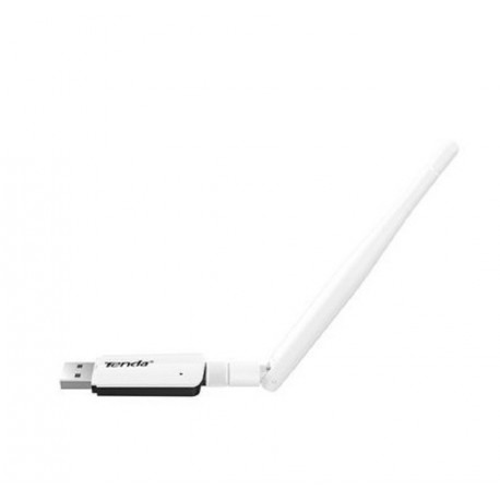 Receiver USB WiFi Tenda U1 300 Mbps adapter and antenna SMA