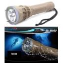 Lanterna de Mergulho, Resistente à água 100M TrustFire TR-DF002 3 XML-L2