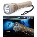 Torcia subacquea Impermeabile 100M TrustFire TR-DF002 3 XML-L2