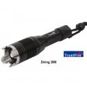 Linterna Sumergible TRUSTFIRE buceo TR-J1 900LM J1 CREE XML T6