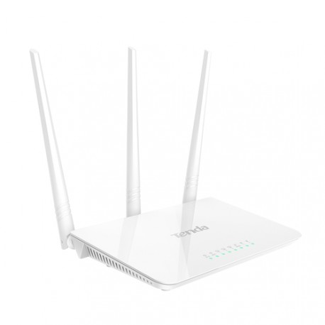 Roteador wireless Tenda F3 neutro barato fácil para casa 300Mb