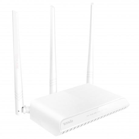 Roteador wireless Tenda NH326 com 3 antenas de 5dbi 300Mbps