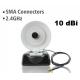 Antenne WiFi 10 dbi paraboles yagi directionnelle radar câble