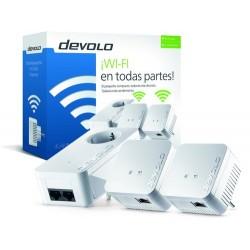 DEVOLO DLAN 550 WIFI NETWORK KIT DE PLC