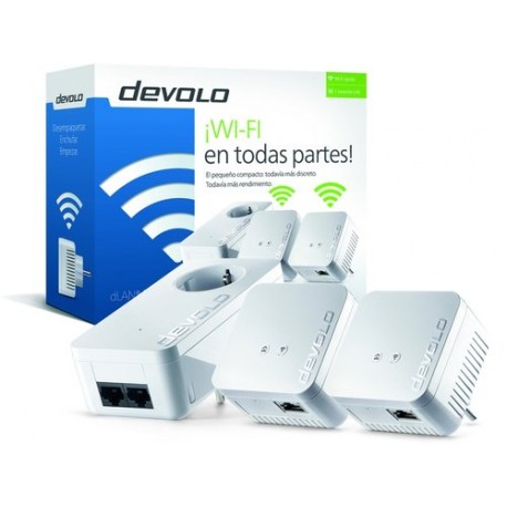 PLC com WiFi DEVOLO DLAN 550 Powerline wi-fi range+ Technology