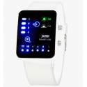 SKMEI 0890 led binary watch men and women fashion waterproof