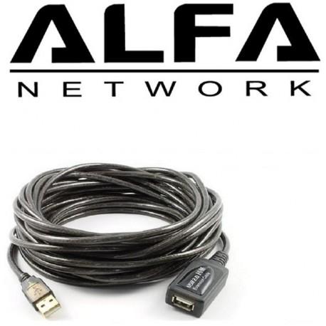 Cable USB alargador 10 metros AUSBC-10M activo y Autoamplificado