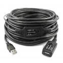 Cable USB alargador de 15 metros AUSBC-15M activo