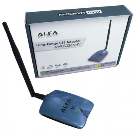 WiFi Amplifier with USB WiFi Adapter 5DBI AWUS036NHV CHIP