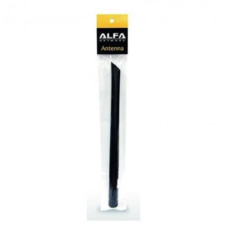 Doppia antenna WiFi omnidirezionale 5dbi ALFA ARS-NT5B 2,4GHz +