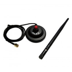 5dbi WiFi Antenna with magnet base magnetic and cable SMA